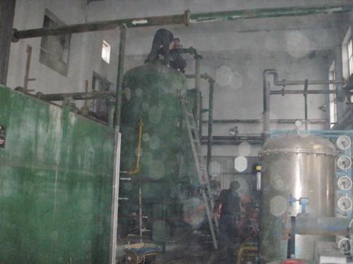 电厂混床维修